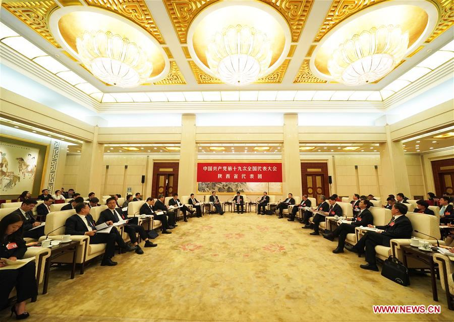 (CPC)CHINA-BEIJING-19TH NATIONAL CONGRESS-OPEN DELEGATION DISCUSSION (CN)