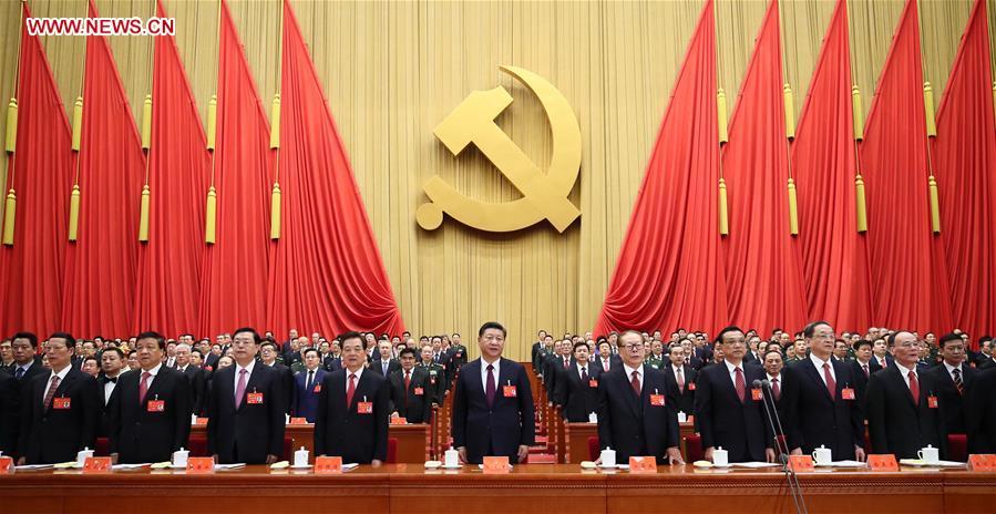 (CPC)CHINA-BEIJING-CPC NATIONAL CONGRESS-OPENING (CN)