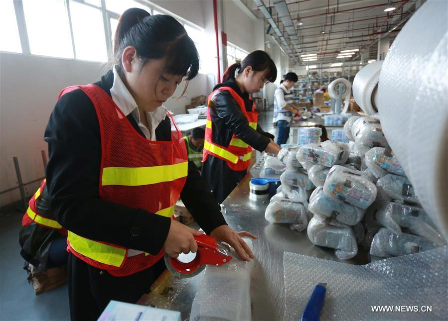 #CHINA-ZHEJIANG-NINGBO-SINGLE'S DAY- SHOPPING SPREE-PREPARATION (CN)