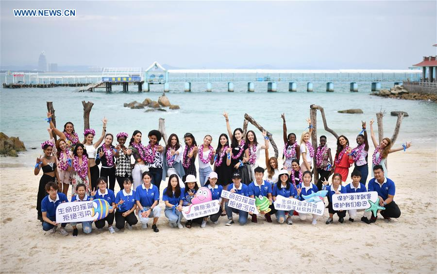 CHINA-SANYA-MISS WORLD-CONTESTANTS(CN)
