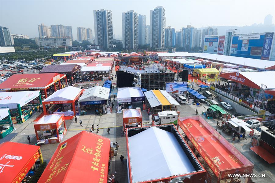 CHINA-CHONGQING-HOT POT-FESTIVAL (CN)