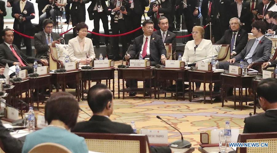 VIETNAM-DA NANG-XI JINPING-APEC-ASEAN-INFORMAL DIALOGUE