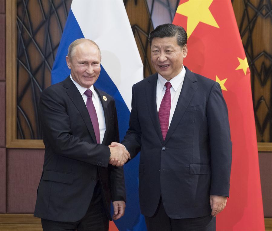 VIETNAM-DA NANG-CHINA-XI JINPING-RUSSIA-PUTIN-MEETING