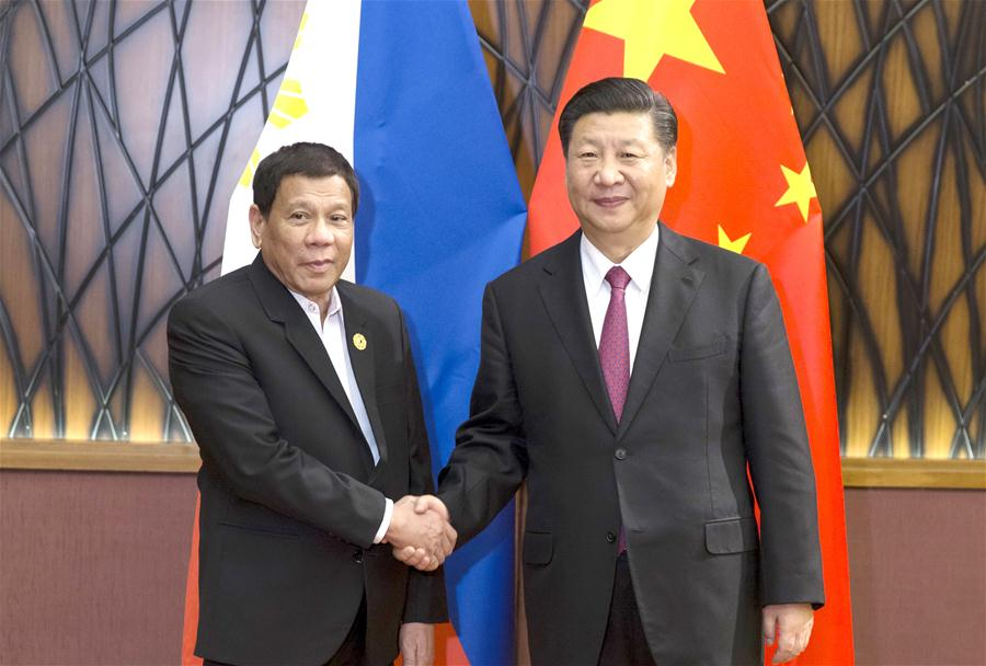 VIETNAM-CHINA-THE PHILIPPINES-XI JINPING-DUTERTE-MEETING