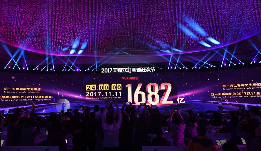 CHINA-11.11 SINGLES' DAY-ALIBABA TRANSACTIONS (CN)