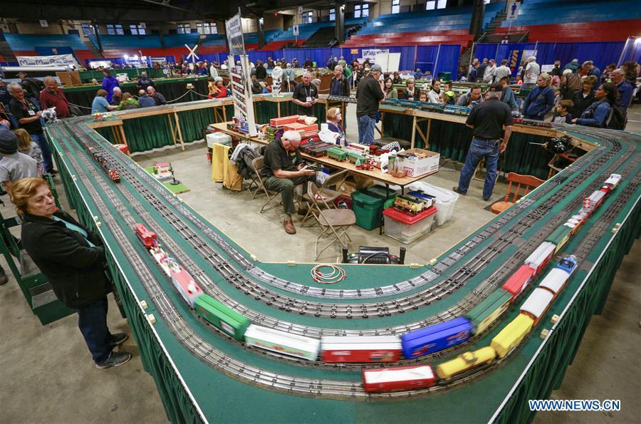 CANADA-VANCOUVER-MODEL TRAIN SHOW