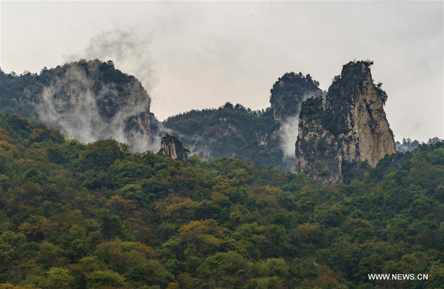 CHINA-HUBEI-XINGSHAN-GAOLAN SCENIC ZONE (CN)