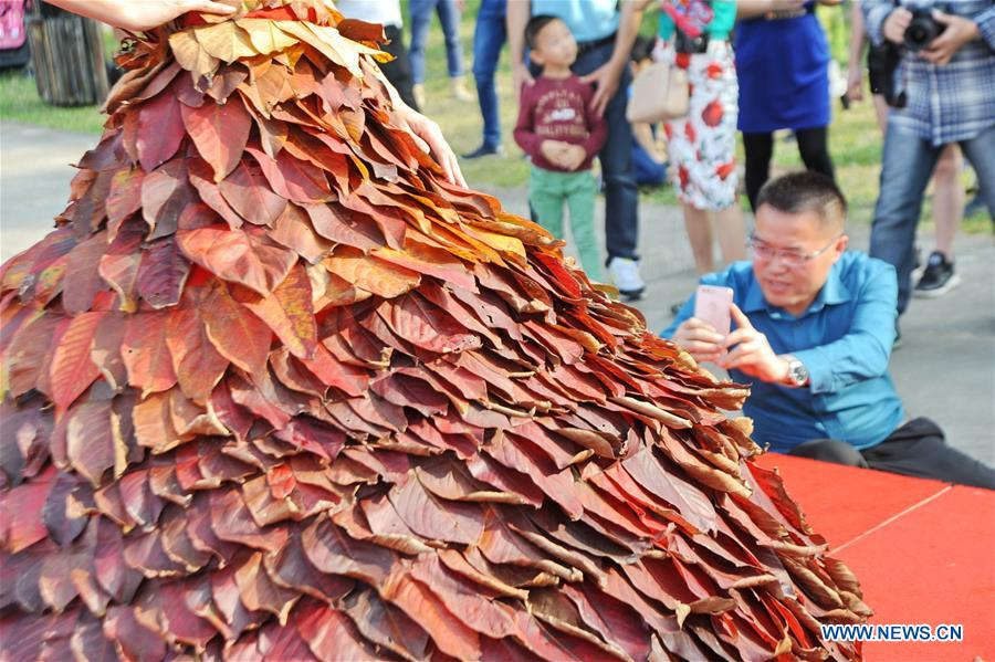 #CHINA-GUANGDONG-QINGYUAN-LEAF DRESS (CN)