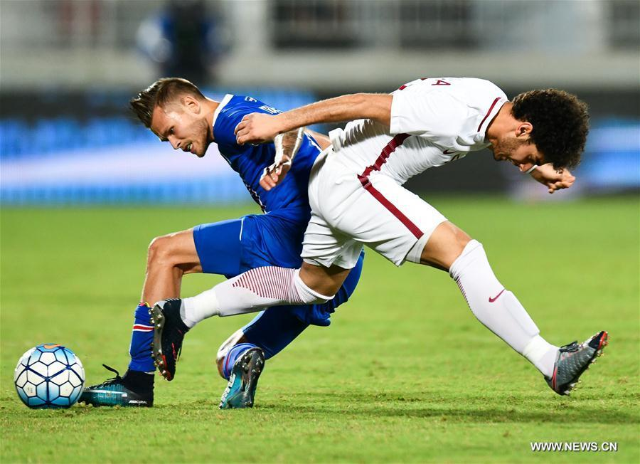 (SP)QATAR-DOHA-SOCCER-FRIENDLY MATCH-QATAR VS ICELAND