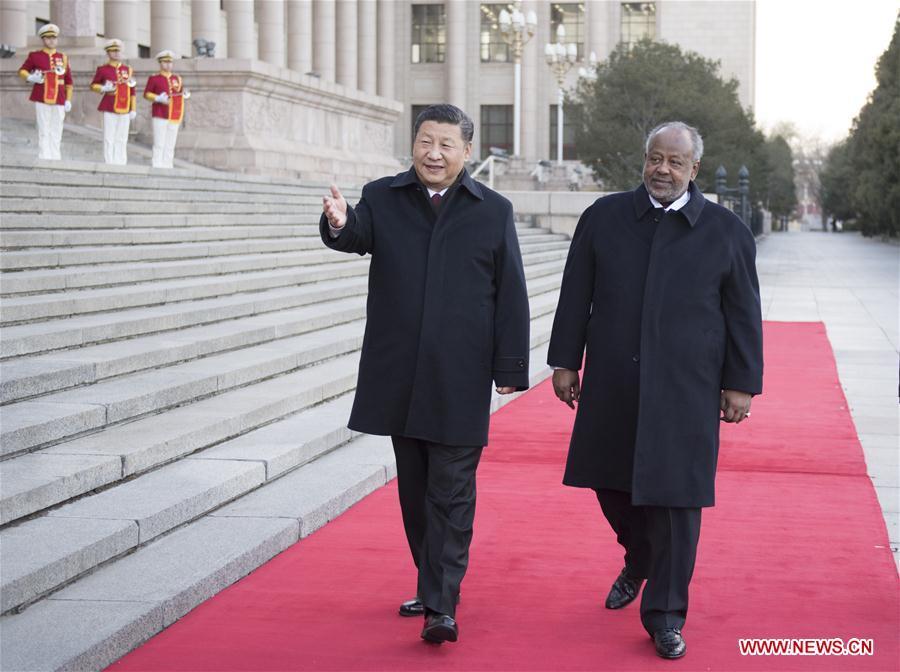 CHINA-BEIJING-XI JINPING-DJIBOUTI-PRESIDENT-TALKS (CN)