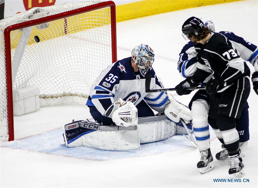 (SP)U.S.-LOS ANGELES-NHL-KINGS-JETS