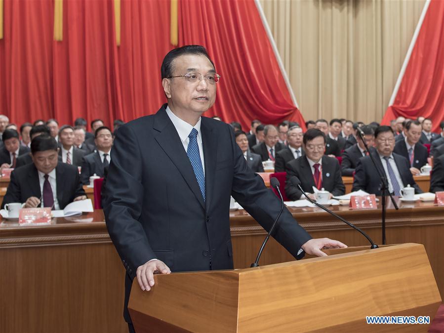 CHINA-BEIJING-LI KEQIANG-ACFIC-CONGRESS (CN)