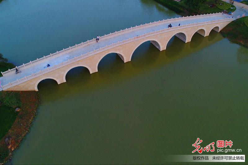 Beautiful scenery of Zhangzhou, China's Fujian Province