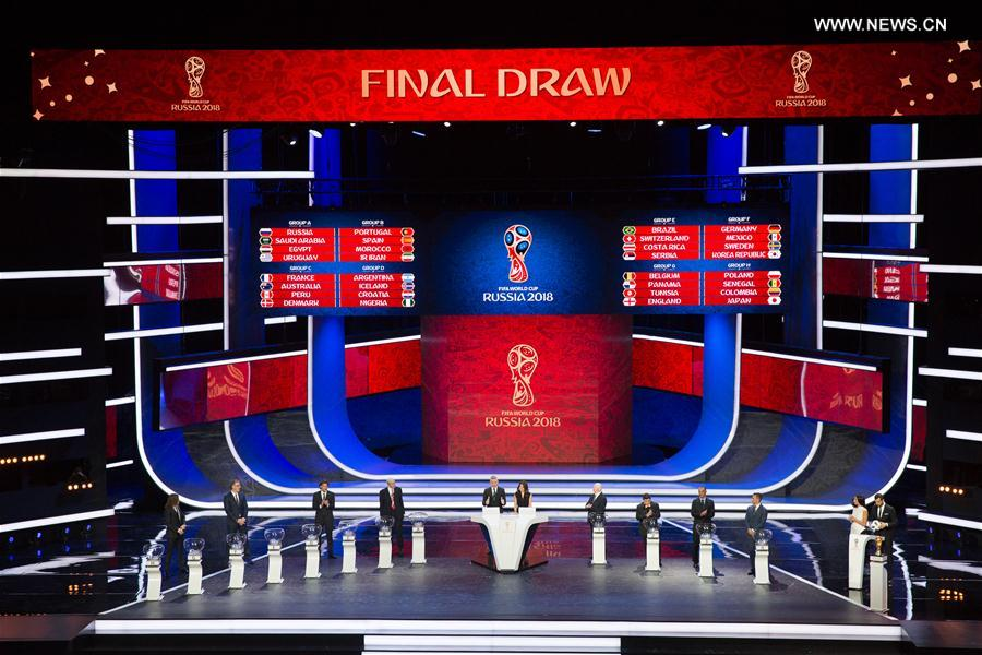 (SP)RUSSIA-MOSCOW-SOCCER-2018 FIFA WORLD CUP-DRAW