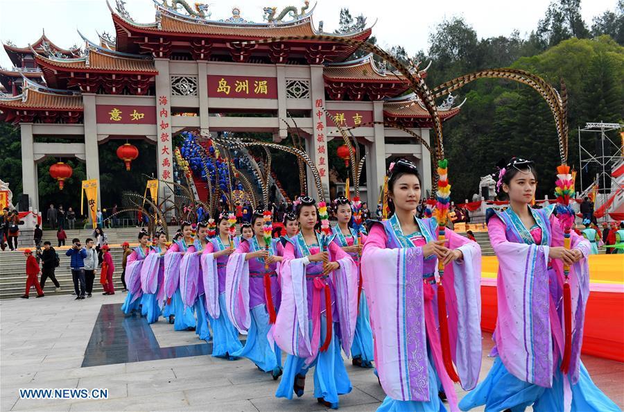 CHINA-PUTIAN-MAZU-PRAYING CEREMONY (CN)