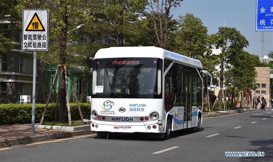 CHINA-SHENZHEN-SELF-DRIVING BUSES (CN)