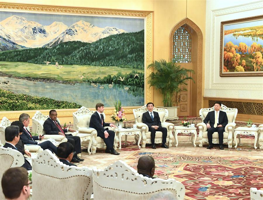 CHINA-BEIJING-WANG HUNING-CPC-WORLD POLITICAL PARTIES-MEETING (CN)