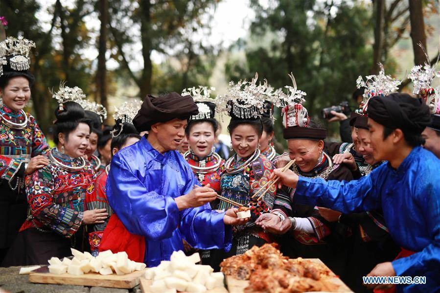 #CHINA-GUIZHOU-MIAO ETHNIC GROUP-CEREMONY(CN)