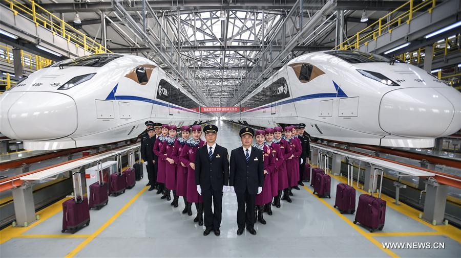 CHINA-SICHUAN-CHENGDU-HSR-DEBUT (CN)