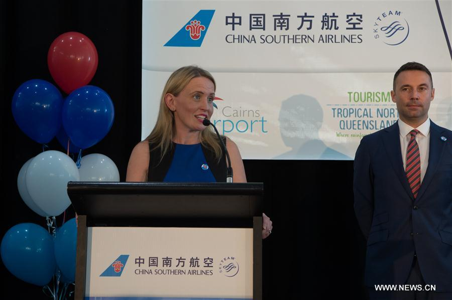 AUSTRALIA-CAIRNS-CHINA SOUTHERN AIRLINES