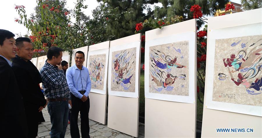 NEPAL-KATHMANDU-ART EXHIBITION