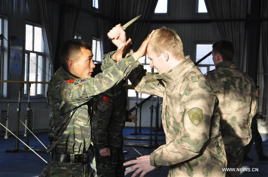 CHINA-YINCHUAN-RUSSIA-JOINT DRILL (CN)