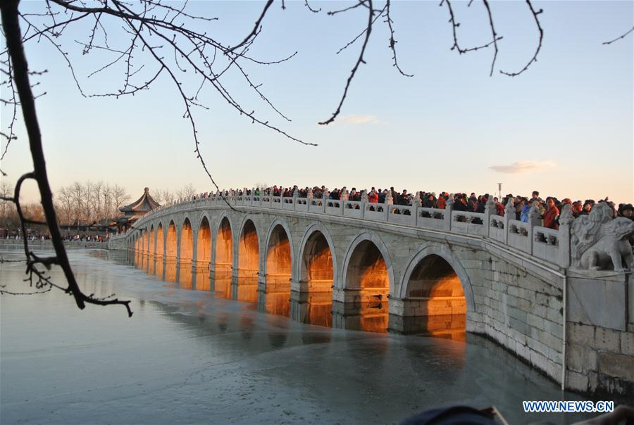 CHINA-BEIJING-SUMMER PALACE (CN)