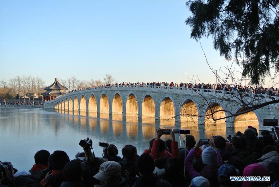 CHINA-BEIJING-SUMMER PALACE (CN)