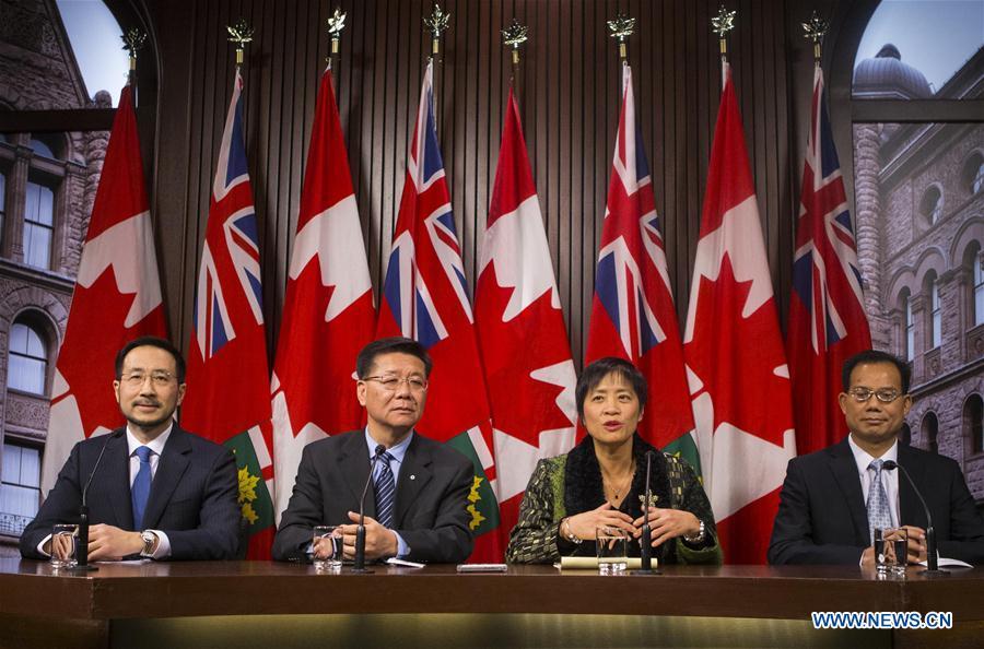 CANADA-TORONTO-NANJING MASSACRE COMMEMORATIVE DAY EVENTS-PRESS CONFERENCE