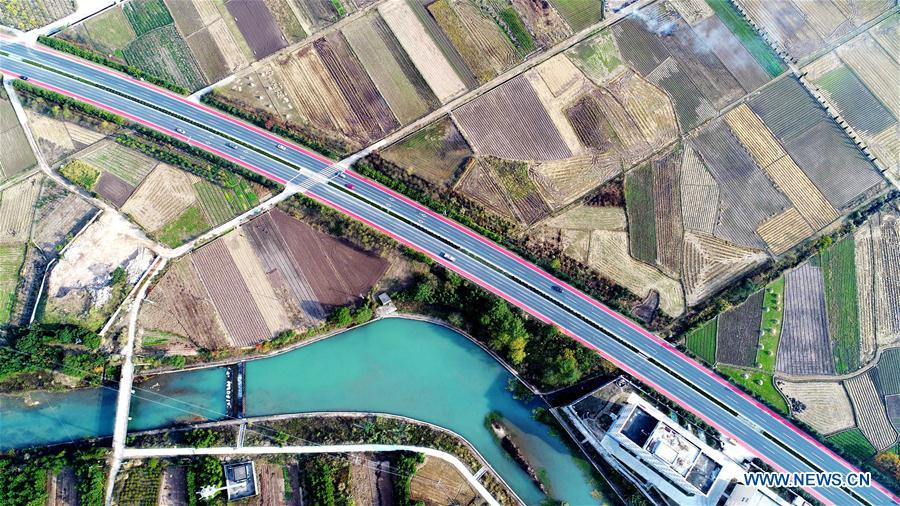 #CHINA-ZHEJIANG-COLORED ROAD (CN)
