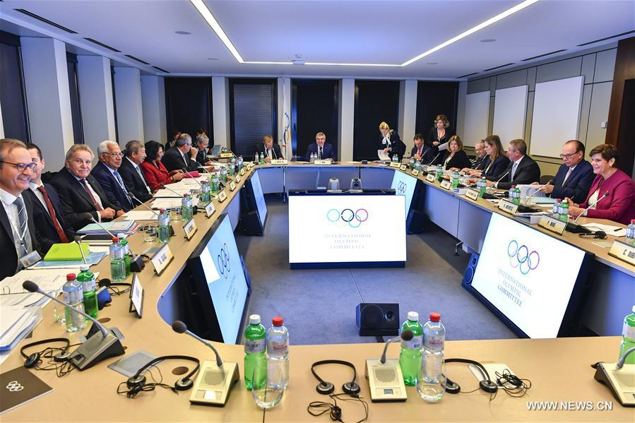 (SP)SWITZERLAND-LAUSANNE-IOC-EB MEETING