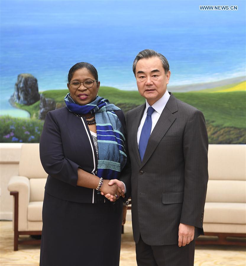 CHINA-BEIJING-WANG YI-SURINAME FM-MEETING (CN)