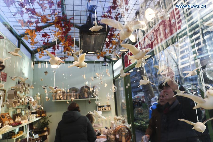 U.S.-NEW YORK-HOLIDAY MARKETS