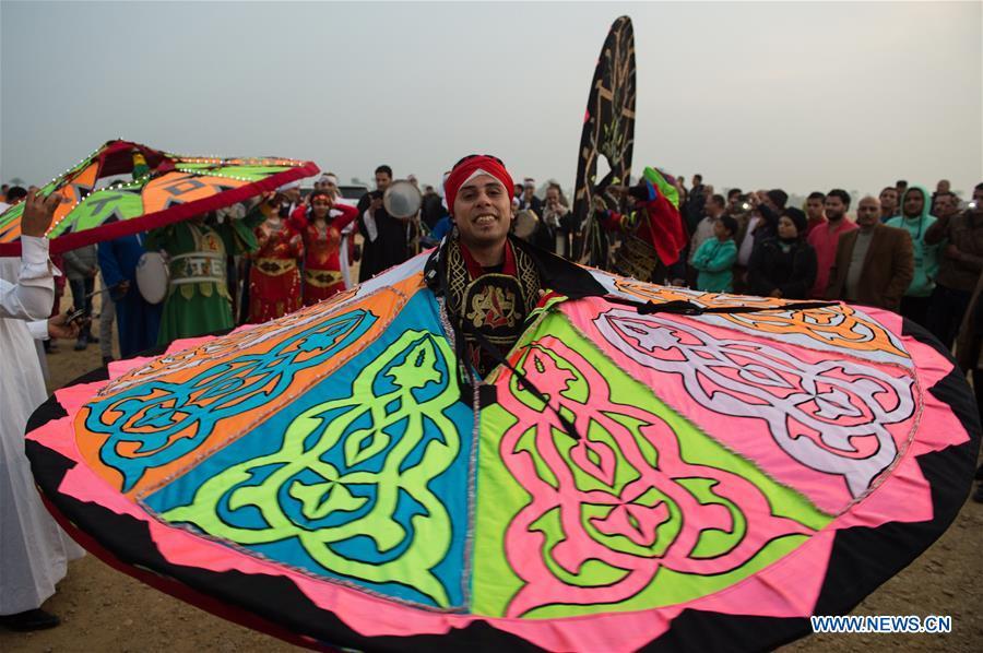 EGYPT-FAYOUM-QASR QAROUN-SUN FESTIVAL