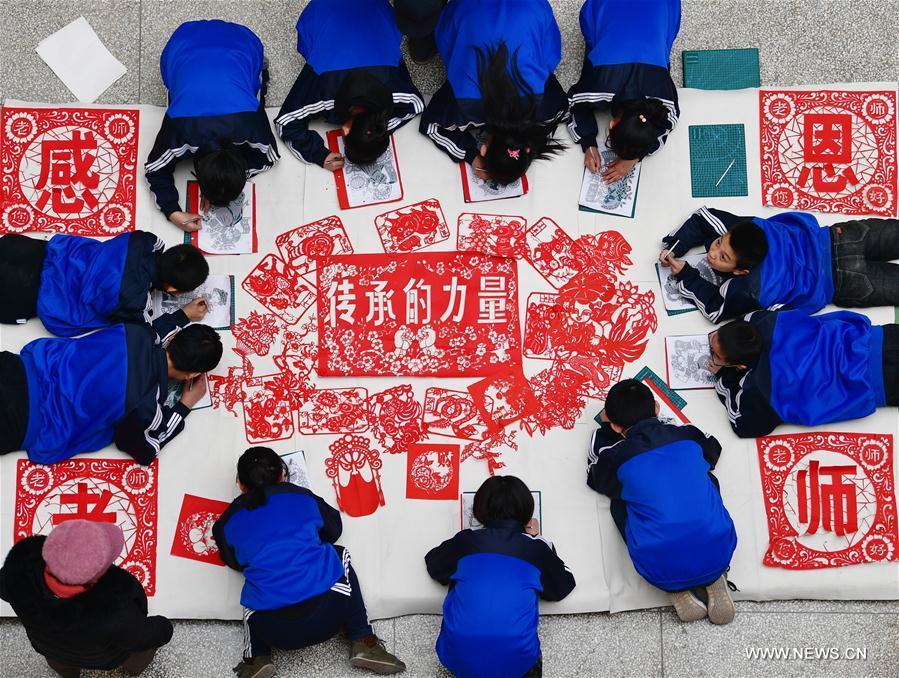 CHINA-HEBEI-PAPER CUTTING CULTURE (CN)