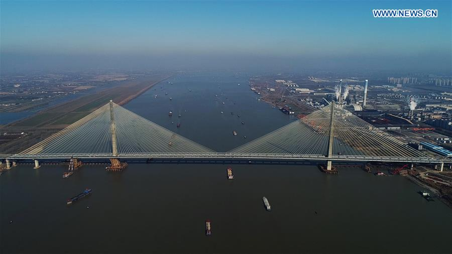 CHINA-WUHU-YANGTZE RIVER-BRIDGE (CN)