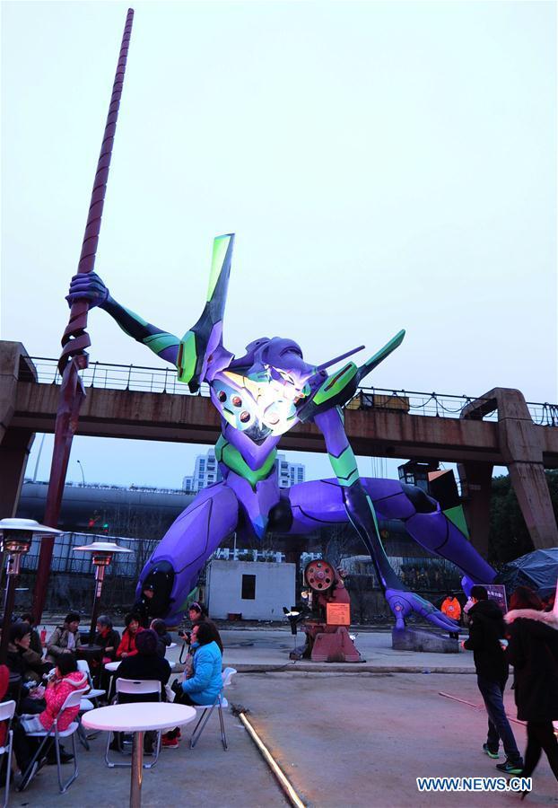 #CHINA-SHANGHAI-COMIC-STATUE-EVANGELION (CN)
