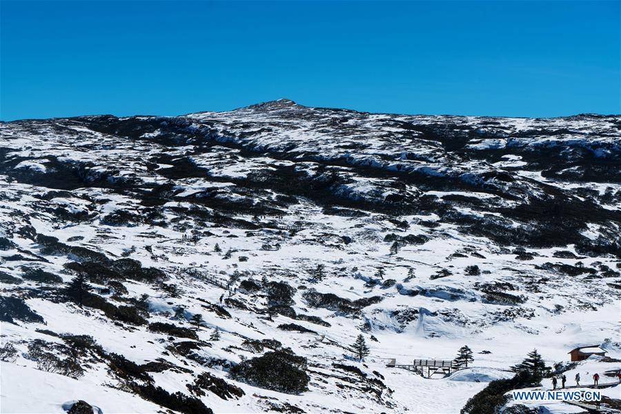CHINA-KUNMING-SNOW MOUNTAIN-SCENERY (CN)