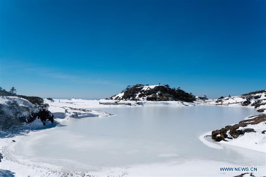 CHINA-KUNMING-SNOW MOUNTAIN-SCENERY (CN)