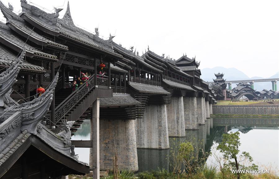 CHINA-CHONGQING-ZHUOSHUI-ANCIENT TOWN(CN)
