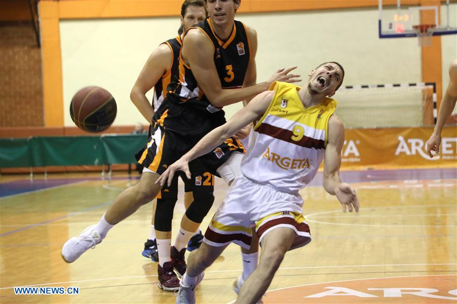 (SP)BOSNIA AND HERZEGOVINA-SARAJEVO-BASKETBALL-ABA LEAGUE 2