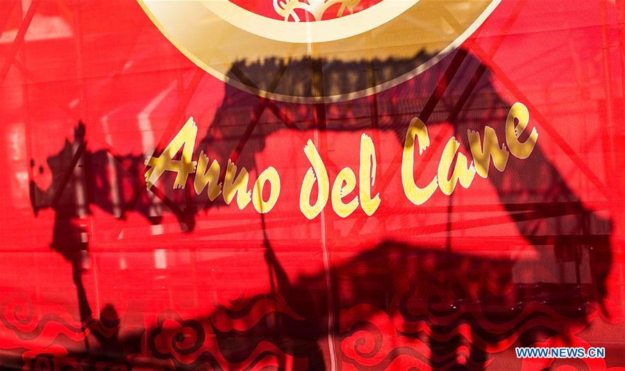 ITALY-ROME-CHINESE LUNAR NEW YEAR-CELEBRATION