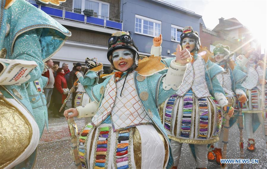 BELGIUM-AALST-CARNIVAL-PARADE