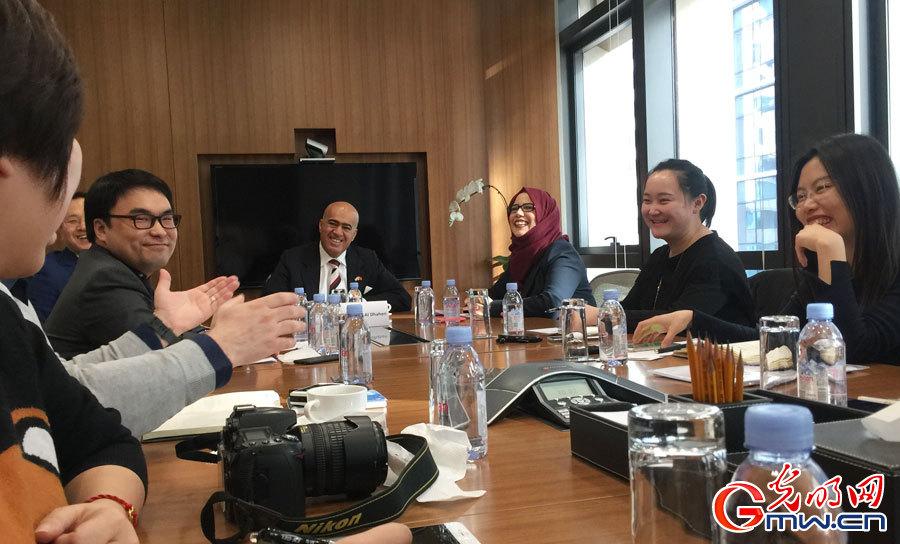 """UAE ambassador to China: """"Belt and Road"""" further promotes China-UAE cooperation"""