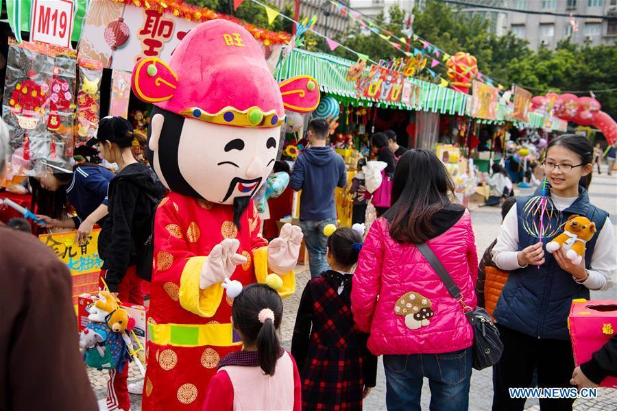 CHINA-MACAO-SPRING FESTIVAL-GOODS(CN)