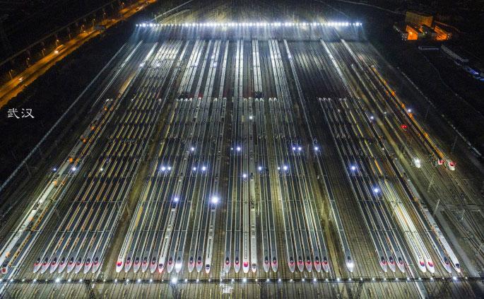 Bravo for CRH (China Railway High-speed)