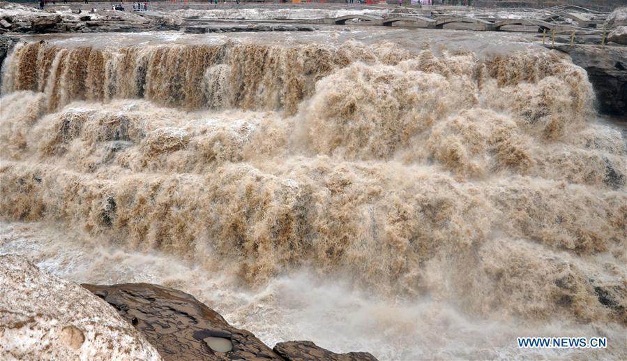 #CHINA-SHANXI-HUKOU WATERFALL (CN)