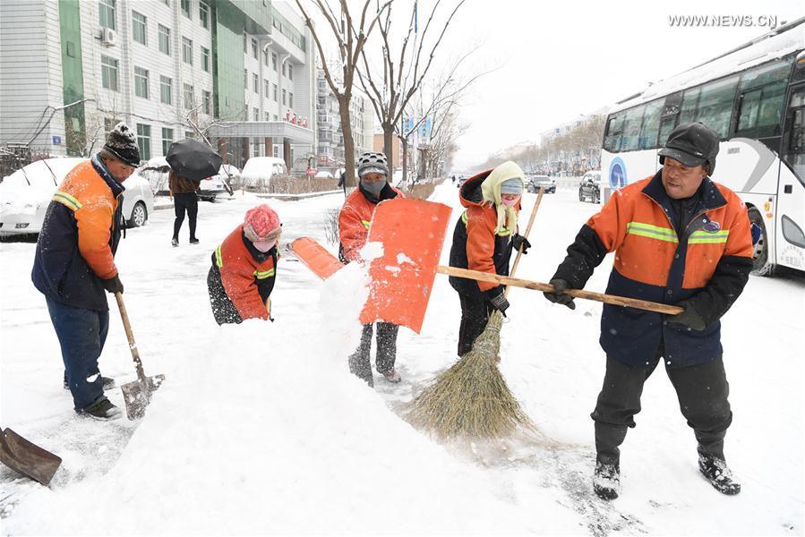 #CHINA-LIAONING-SNOWFALL(CN)