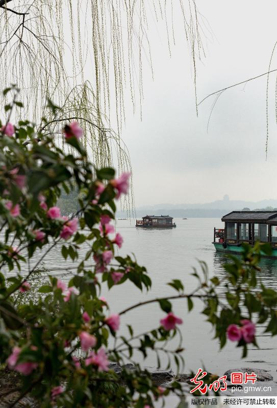 Picturesque scenery in hangzhou,E China's Zhejiang