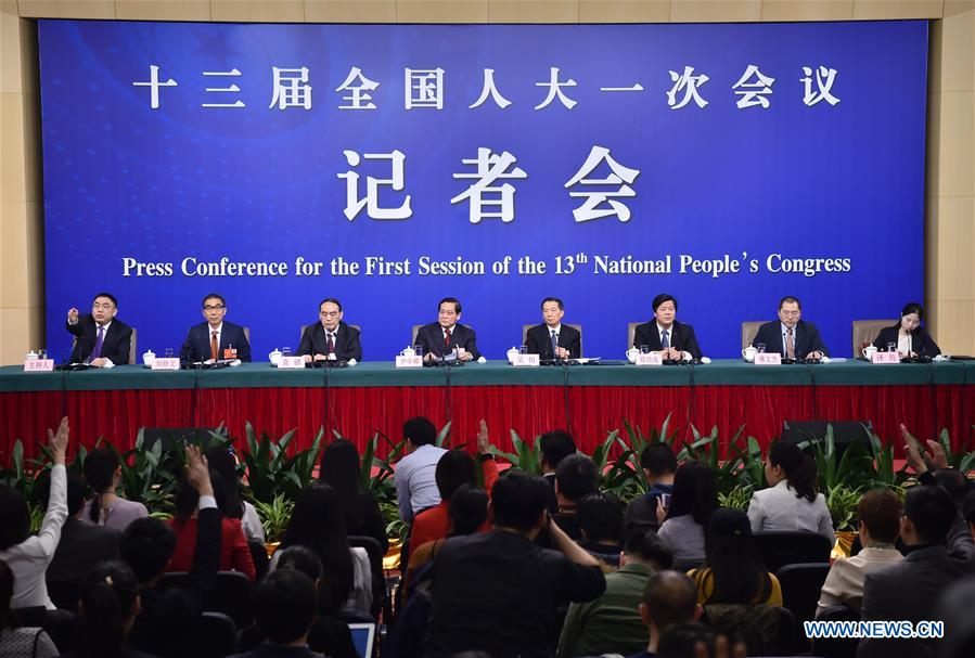 (TWO SESSIONS)CHINA-BEIJING-NPC-PRESS CONFERENCE-SUPERVISION WORK (CN)